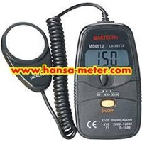 Matech MS6610 Lux Meter