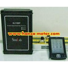 Portable Ultrasonic Flowmeter SL118P Sitelab