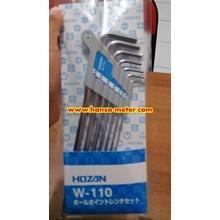 Ballpoint L-Wrench SET W-110 hozan
