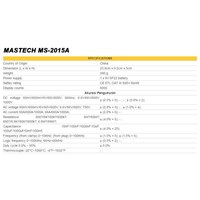 Jual Clamp Meter MAstech MS2015A 1000A  2