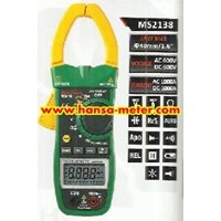 Jual Clamp Meter Mastech MS2138 1000A ACDC
