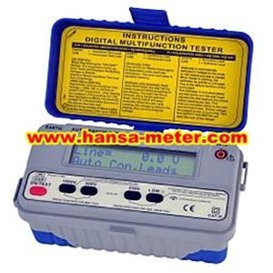 SEW 1152 MF Digital LCD Multifunction & insulation Tester