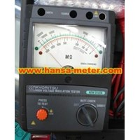 Jual Insulation Tester Analogue Kyoritsu KEW 3122A 5000V