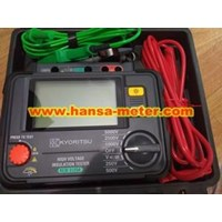 HIGH VOLTAGE INSULATION TESTER KEW-3125A 1