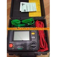 Jual HIGH VOLTAGE INSULATION TESTER KEW-3125A 2
