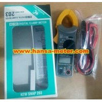 Clamp ampere 203 Kyoritsu 400A AC/DC