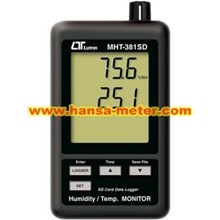 Humidity Temperature Monitor Lutron MHT381SD