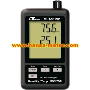 Humidity Temperature Monitor Lutron MHT381SD