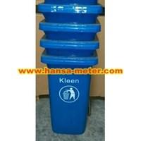 Jual Dustbin 120 Liter  Non Pedal biru