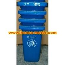 Dustbin 120 Liter  Non Pedal biru