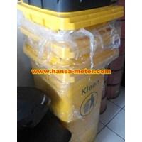 Tong Sampah 120 liter warna kuning