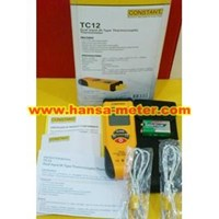 TC12 Constant Dual Inpit Thermometer Termocouple Type K  1