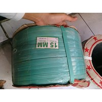 Jual Tali strapping 15mmx7kg warna hijau  2