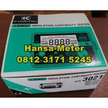 KYORITSU 3021 insulation tester