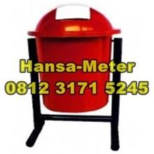 Tempat Sampah 60 liter red
