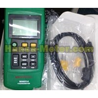 Jual Thermometer With data loging MS6514 Mastech