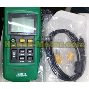 Thermometer With data loging MS6514 Mastech