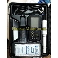 Jual TDS Meter HI-9813-5 HANNA  pH/EC/TDS/°C Portable Meter