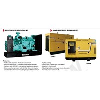GENERATOR SET HEAVY DUTY