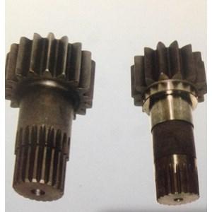 gear pinion swing alat berat