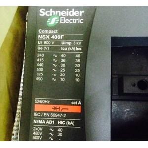 MCCB NSX 400 F SCHNEIDER