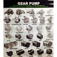 Jual Regulator dan Gear Pump Alat Berat all jenis-merek