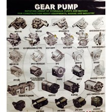 Regulator dan Gear Pump Alat Berat all jenis-merek