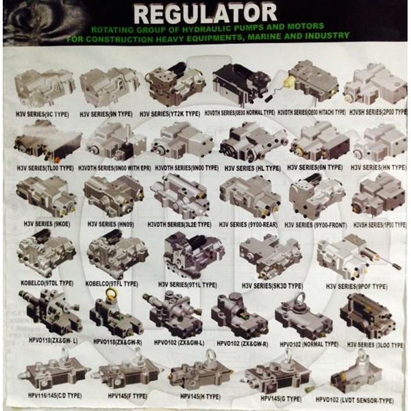 Regulator dan Gear Pump Alat Berat all jenis-merek