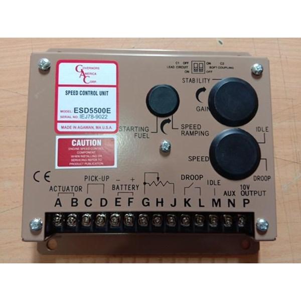speed control GAC 5500E Panel Genset