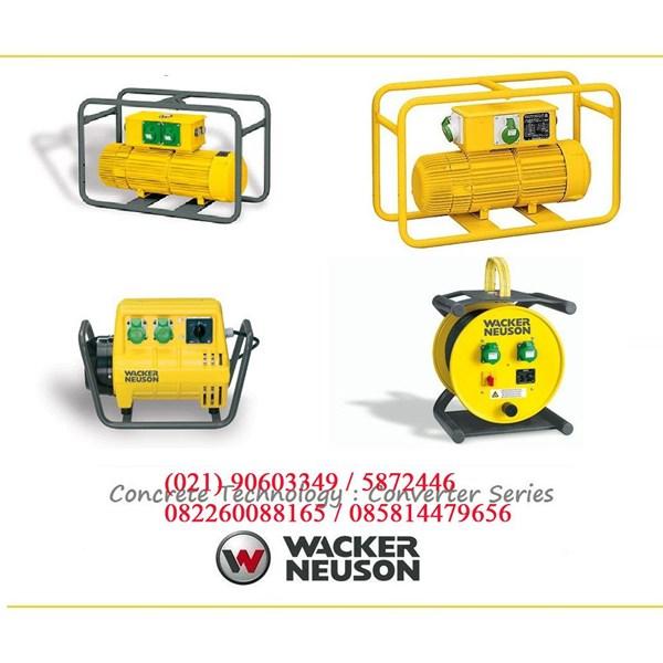 ELECTRIC CONCRETE VIBRATOR WACKER NEUSON FU 5Z 200