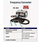 FREQUENCY CONVERTER MIKASA FC 401 3