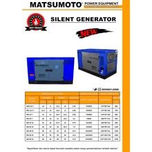 GENSET SILENT 40 KVA DIESEL STAMFORD MATSUMOTO MS 40 W