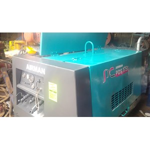 Sell AIR COMPRESSOR AIRMAN PDS 175 CAPACITY 175 CFM RECONDITION from  Indonesia by AGUSTA MITRA SUKSES,PT,Cheap Price