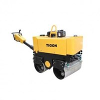 VIBRATION ROLLER WALK BEHIND DOUBLE ROLLER TIGON TG VR 600