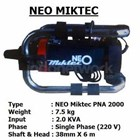 VIBRATOR BETON ELECTRIC NEO MIKTEC PNA 2000 3