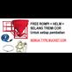 Sewa Rental Bucket Cor Beton 800 1000 Liter ( 0.8 - 1 Kubik )