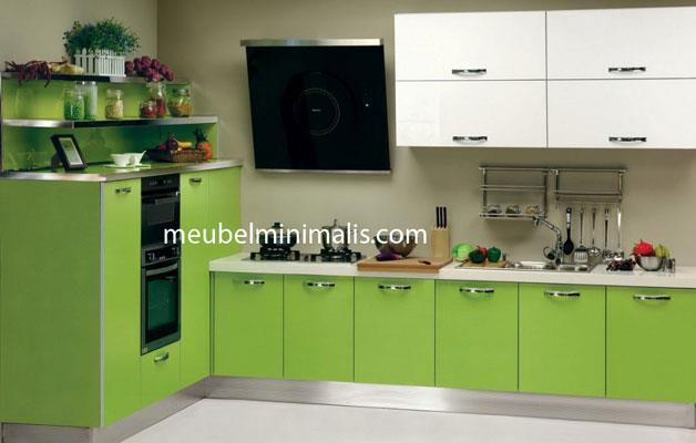 jual kitchen set warna minimalis harga murah jepara oleh