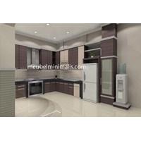 Elegant Minimalist Kitchen Set
