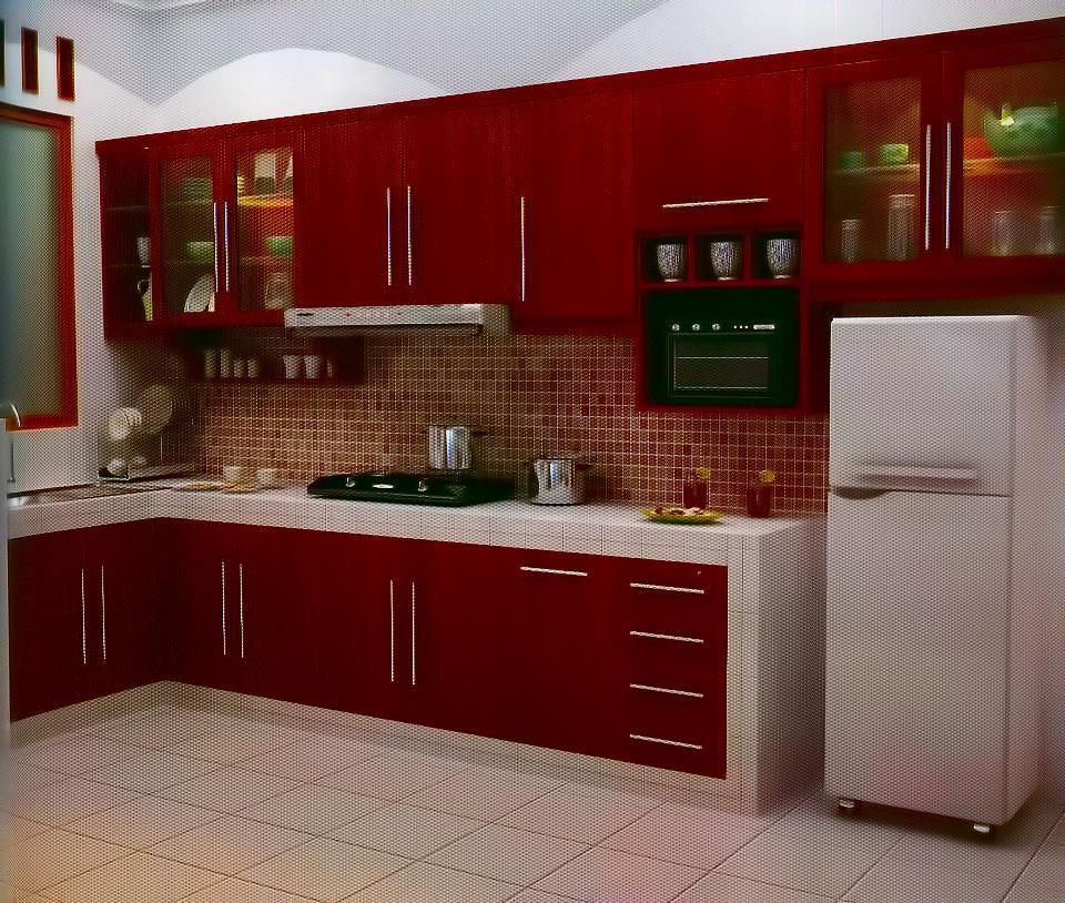 Jual kichen set nh 04 harga murah jepara oleh toko nor for Toko kitchen set