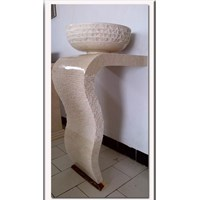 Jual pedestal wash basin type 2