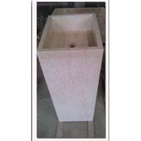 Jual Pedestal wash basin type 3