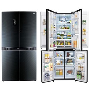 Sell Refrigerator Side By Side Lg 1001 Litre Gr D34fbghl