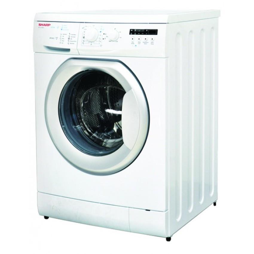 jual mesin cuci front loading sharp 8 kg   es fl1080s