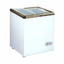 RSA Sliding Flat Glass Freezer 100 Liter XS-110