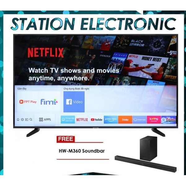 "Smart TV SAMSUNG UHD TV (4K) 50"" UA50NU7090 (Free Sound bar HW-M360 )"