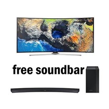 SAMSUNG CURVE Smart UHD TV 55