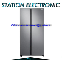 From Samsung Inverter and Konerter Refrigerator Side By side 647 Liter RS62R5001SL 0