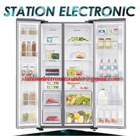 From Samsung Inverter and Konerter Refrigerator Side By side 647 Liter RS62R5001SL 1