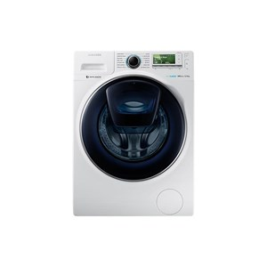 jual mesin cuci samsung front loading addwash with eccobubble 12 kg ww12k8412ow harga murah. Black Bedroom Furniture Sets. Home Design Ideas