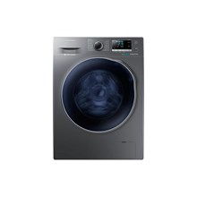 Samsung Mesin Cuci Front Loadingcrystal Blue eccobubble White Dryer 10 Kg - WD10J6410AX